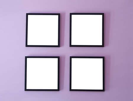galeria fotografica: Cuatro fotogramas en pared