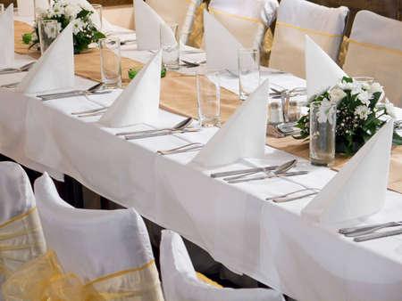 Wedding table Stock Photo - 5112178