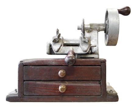 Old key duplicating machine Stock Photo - 6589114