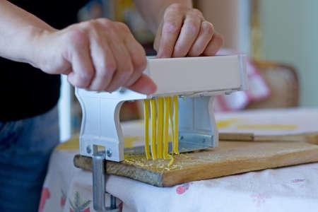 Homemade pasta  photo