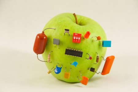 Elektrische Apfel