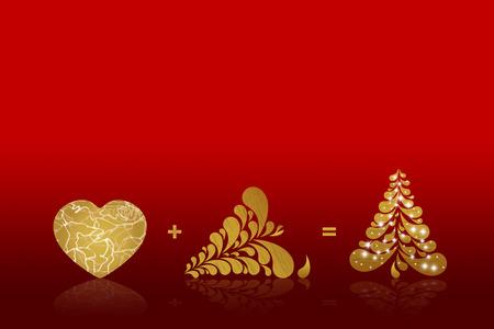 xmas background: Christmas background card