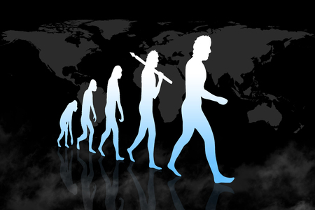 Human Evolution into modern / digital world