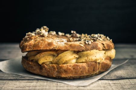 French pastry, Paris brest 版權商用圖片