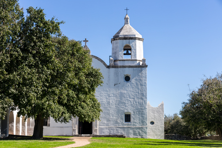 South Texas Mission Stock Photo