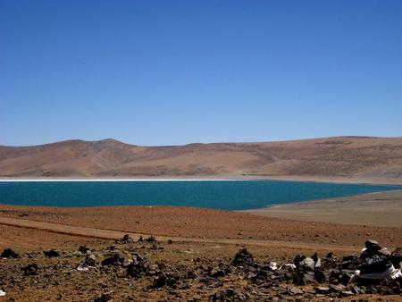 Lake Manasarovar scenery