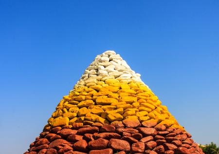 Color stones Editorial