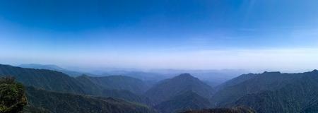 Fanjing mountain scenery