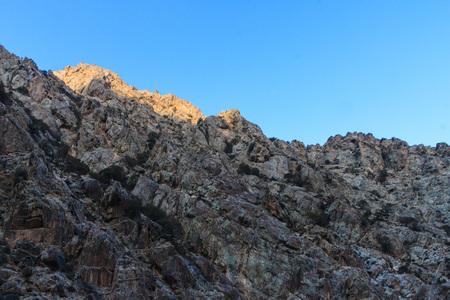 He Lan Mountain scenery 版權商用圖片