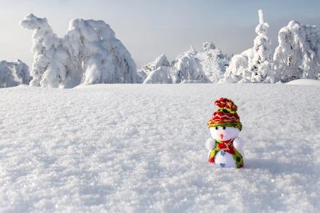 Snowman - traveler
