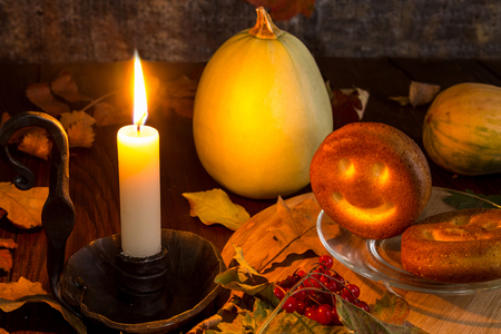 An image with a pumpkin Stock Photo