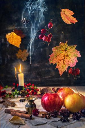 Aromas of autumn.