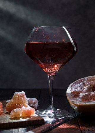 Image with wine. Imagens