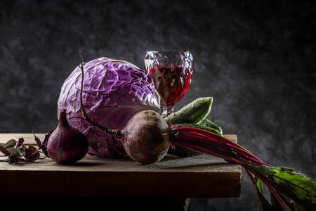 Image with vegetables. Banque d'images