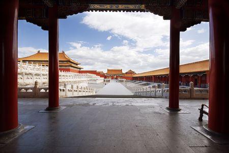 Beijing Forbidden City Reklamní fotografie