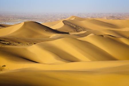 sea scenery: Sand desert ,china