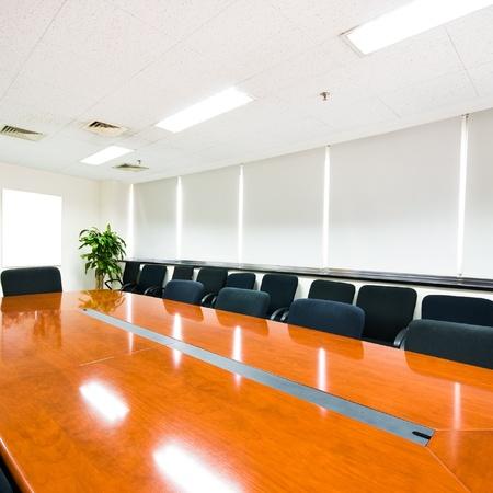 office window view: Modern office interior Boardroom