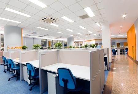 nettoyer: lieu de travail de bureau