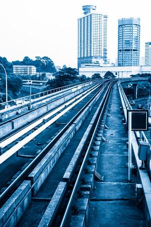Urban rail transit in Kuala Lumpur, Malaysia photo