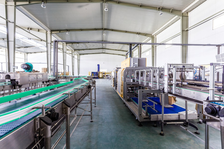 production plant: impianto di produzione di bevande in Cina