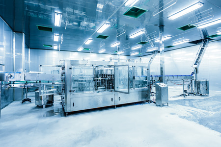 drinks production plant in China Imagens