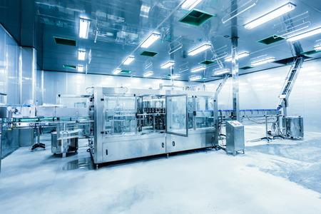 fabrik: Getränke-Produktionsanlage in China Lizenzfreie Bilder