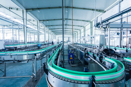 produktion: Getränke-Produktionsanlage in China Lizenzfreie Bilder