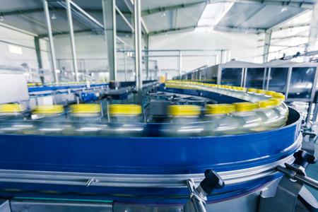 production plant: beve stabilimento produttivo in Cina Archivio Fotografico
