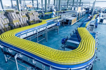Getränke-Produktionsanlage in China Standard-Bild - 26546796