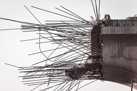 schlagbaum: Die Überführung gebaut wird Lizenzfreie Bilder