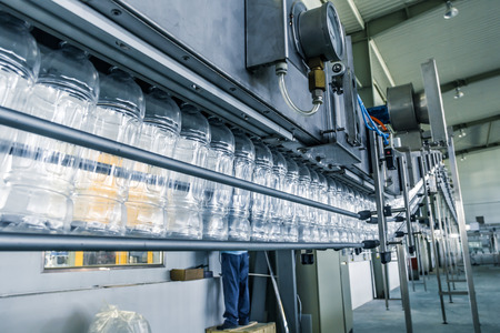 drinks production plant in China Stockfoto
