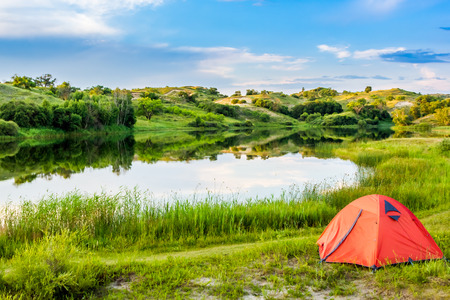 campground: Lakeside campground
