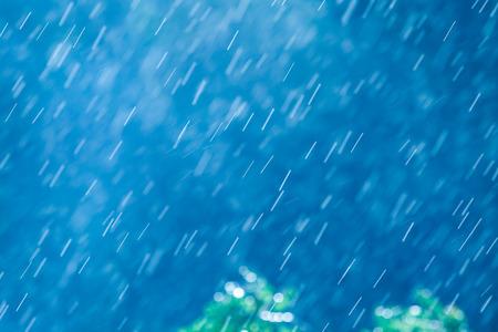 rain 写真素材