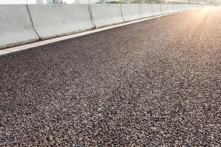 road texture: close-up new asphalt road