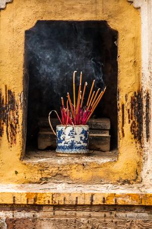 sandalwood: Burn incense