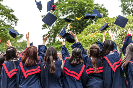 successful student: The graduation ceremony