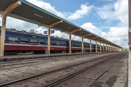 hues: Vietnam Hues railway station Editorial