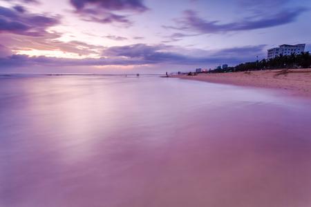 new age: The sunrise and the sea Stock Photo