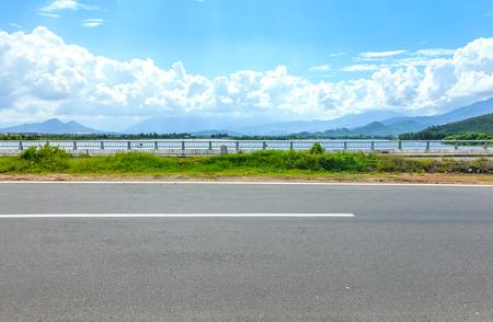 side road: The seaside highway