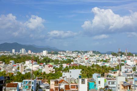 trang: Vietnam nha trang city panorama
