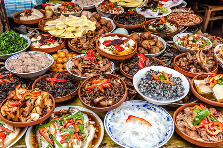 lleno: Comida china
