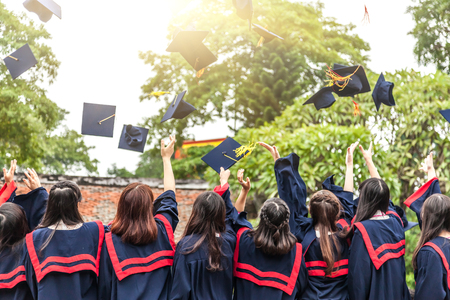 graduating seniors: The graduation ceremony