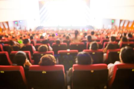 concert seats Stock Photo