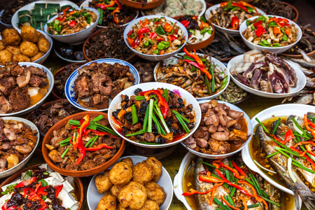Chinese food Foto de archivo