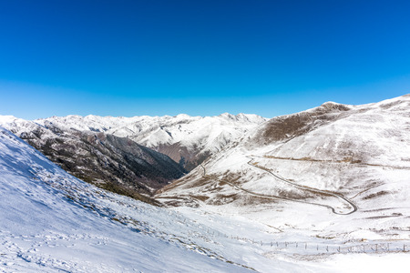snow mountains in Sichuan China