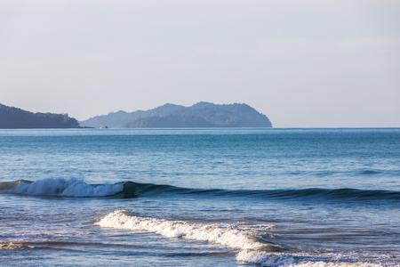 coastline of Andaman Sea in Thailand