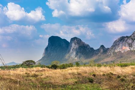 fields under blue sky in Thailand Reklamní fotografie
