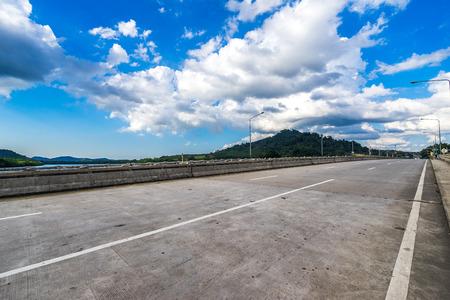bridge under blue sky in Thailand Reklamní fotografie - 123027585