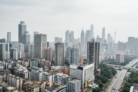 Guangzhou city view in China