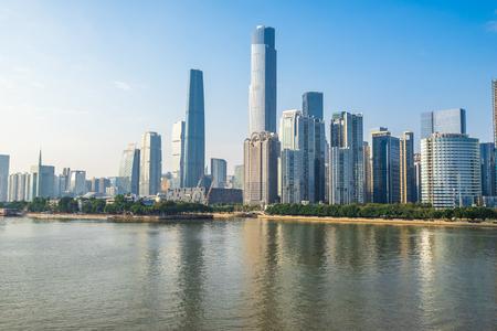 skyscraper in Guangzhou of China